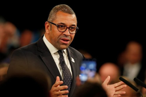 The British Minister of State for the Middle East and North Africa, James Cleverly on 6 November 2019 [ADRIAN DENNIS/AFP/Getty Images]