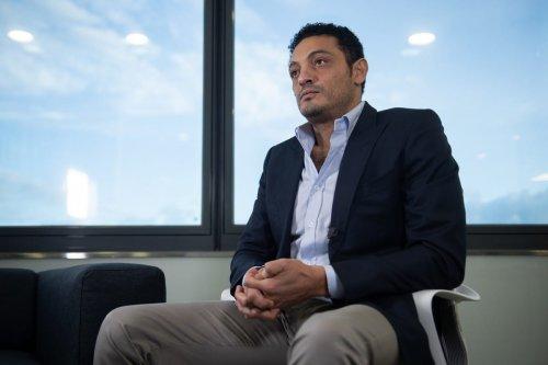 Egyptian businessman Mohamed Ali Barcelona, Spain on 23 October 2019 [JOSEP LAGO/AFP/Getty Images]