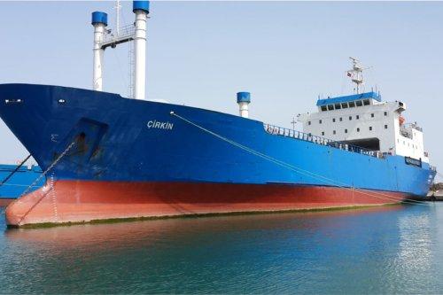 Cirkin cargo ship which belongs to Avrasya Shipping [Twitter]