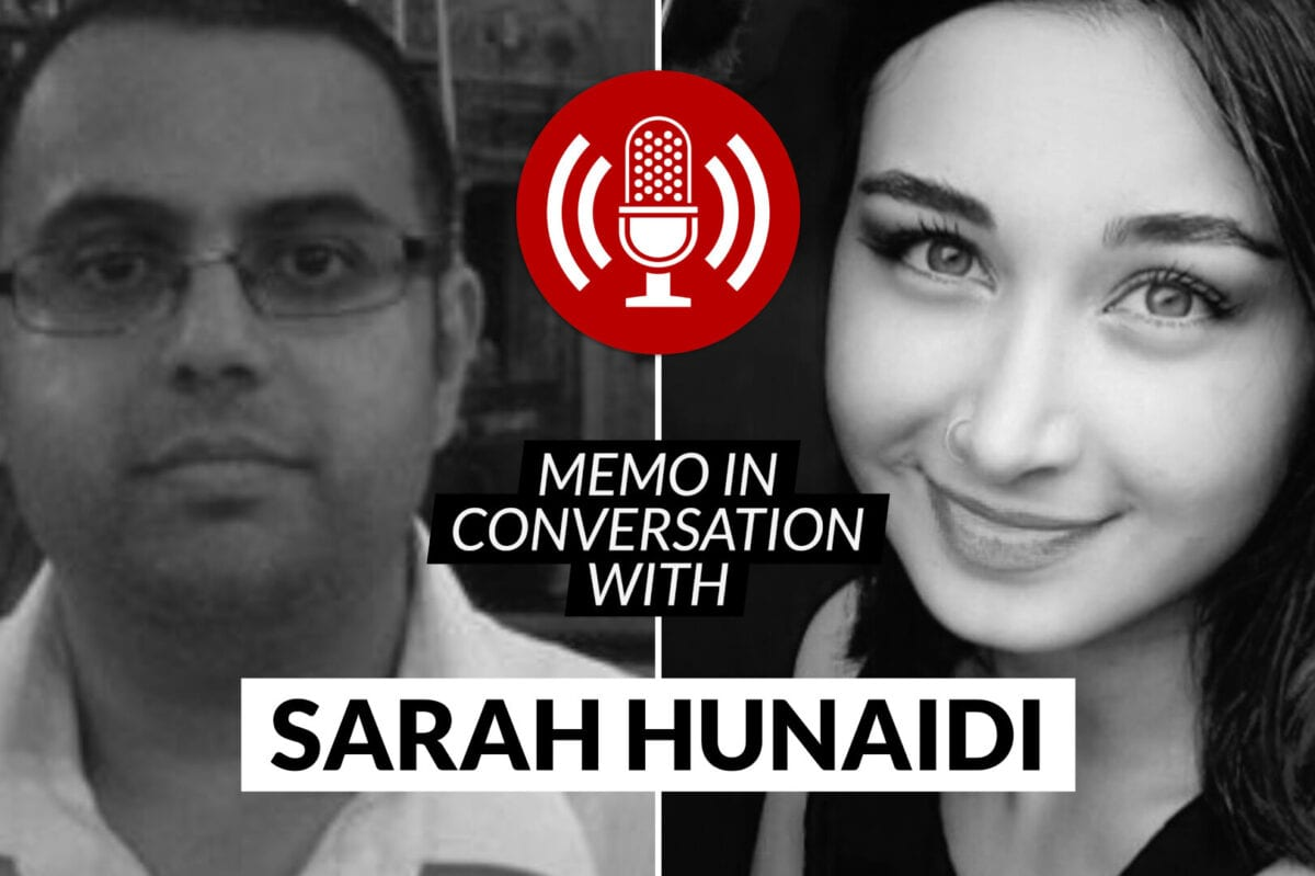 MEMO in conversation with: Sarah Hunaidi