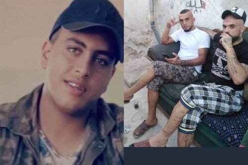 The 16-year-old Jordanian victim (L) and the attackers (R)[MousaAlomar/Twitter]