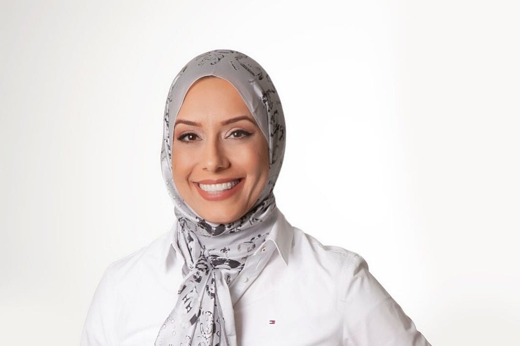 Fatima Hussein is a candidate for the Democratic Party in the municipal council election in Florianopolis, Brazil (Photo: Fatima Hussein for Middle East Monitor)