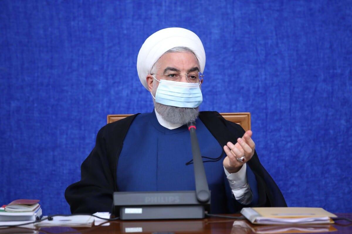 Iranian President Hassan Rouhani in Tehran, Iran on 29 September 2020 [Iranian Presidency/Anadolu Agency]