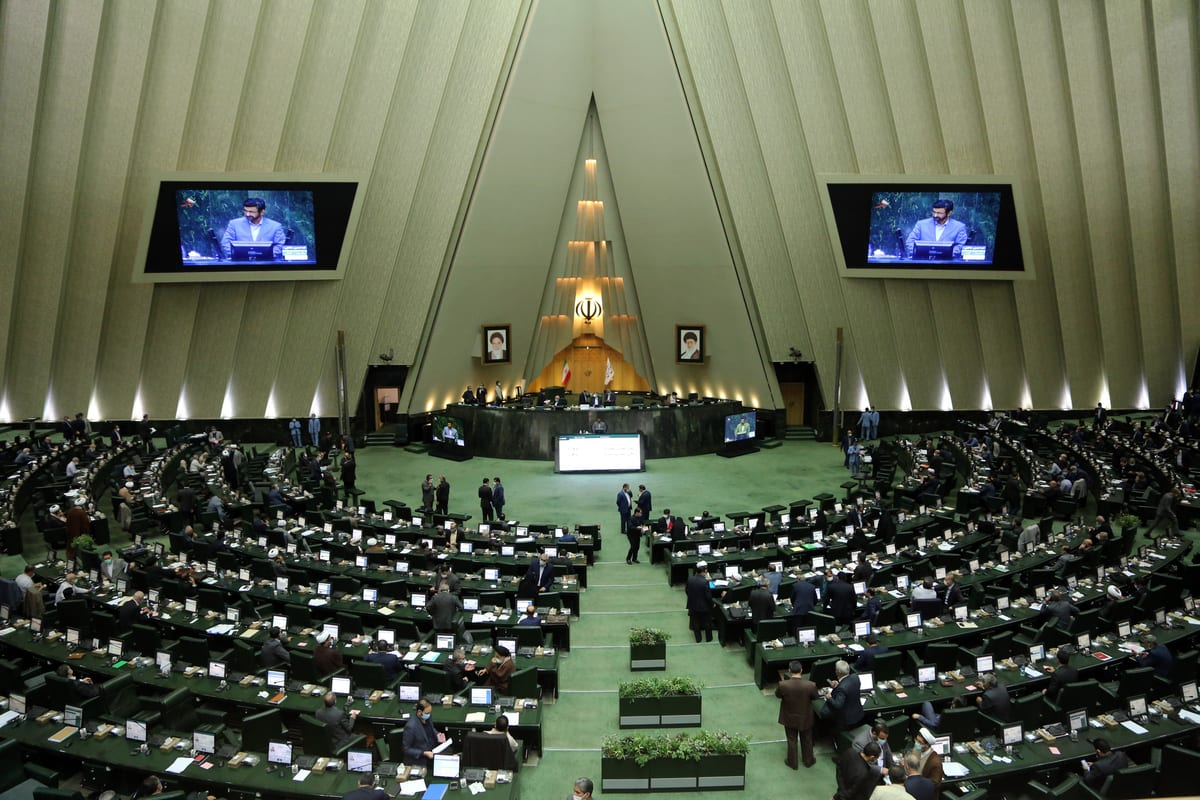 A general view of Parliamentary session in Tehran, Iran on 22 October 2020 [Fatemeh Bahrami/Anadolu Agency]