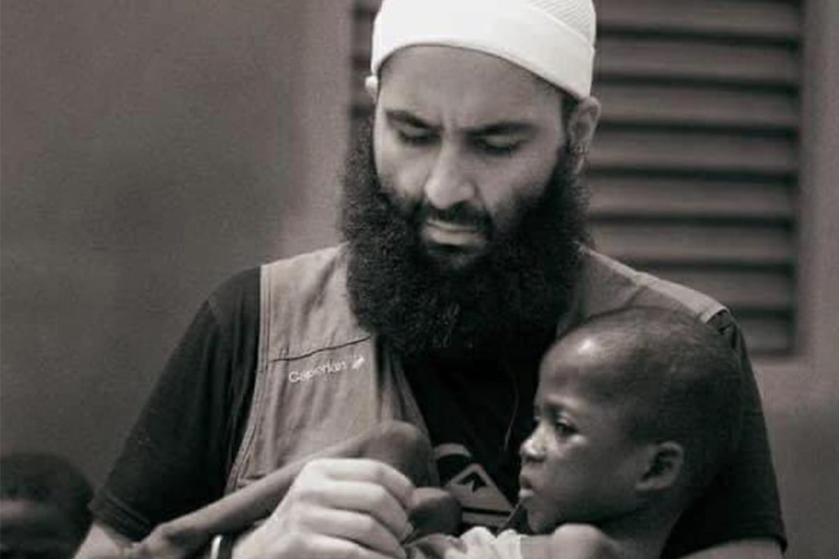 Head of French Muslim NGO BarakaCity, Idriss Sihamedi, [Gutsy Voice/Twitter]