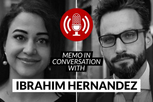 MEMO in conversation with Ibrahim Hernandez