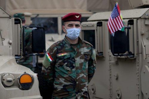 US forces in Erbil, Iraq on 10 November 2020 [Yunus Keleş/Anadolu Agency]
