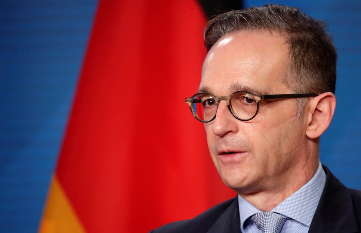 German Foreign Minister Heiko Maas in Berlin, Germany November 17, 2020 [REUTERS/Hannibal Hanschke/Pool/Anadolu Agency]