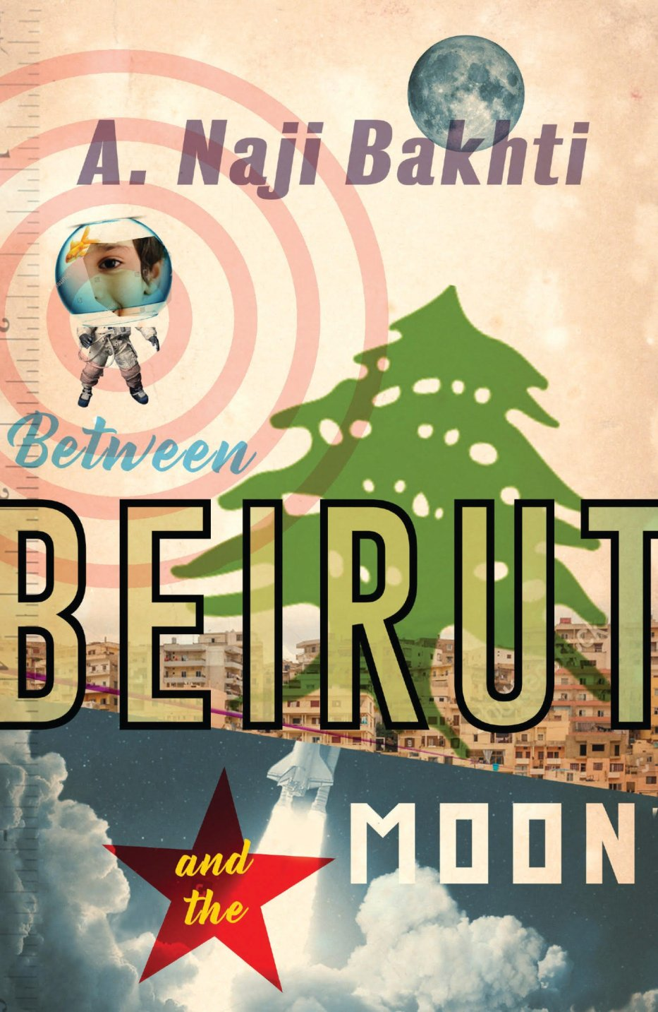 Between Beirut and the Moon book cover [Influx Press]