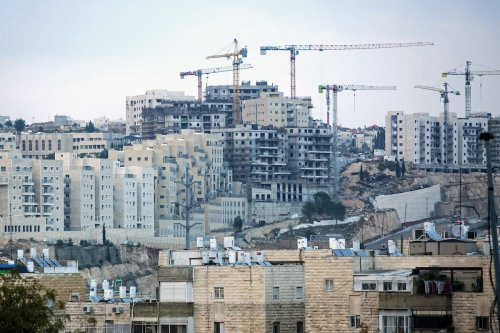 The Jewish settlement of Ramat Shlomo in Jerusalem, Israel on 16 November 2020. [Amir Levy/Getty Images]