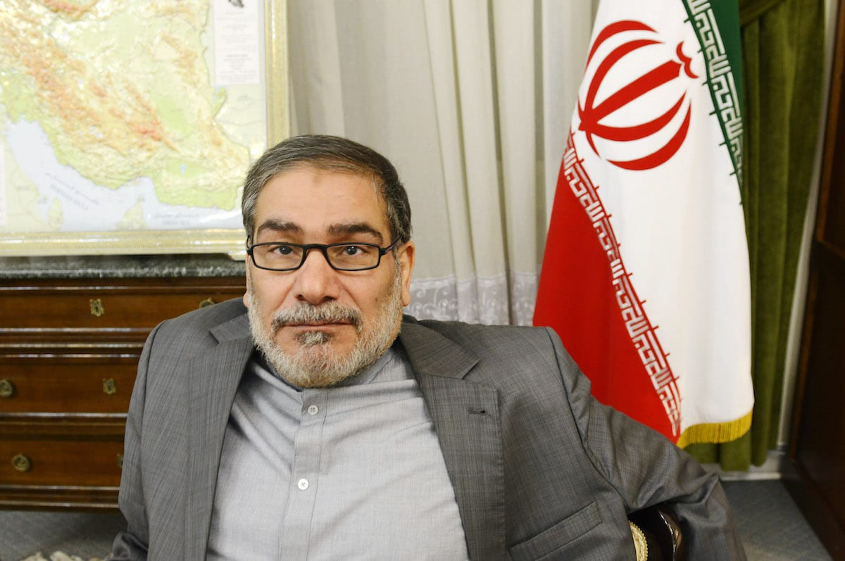 General Ali Shamkhani the secretary of the Supreme National Security Council of Iran on December 17, 2014 in Tehran, Iran [Kaveh Kazemi/Getty Images]