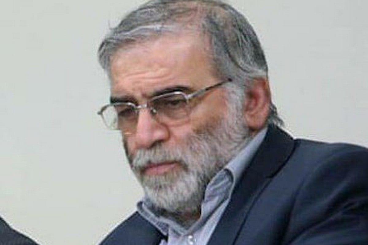 Iranian nuclear scientist Mohsen Fakhrizadeh has died after armed assassins fired on his car on 27 November 2020 [tparsi/Twitter]