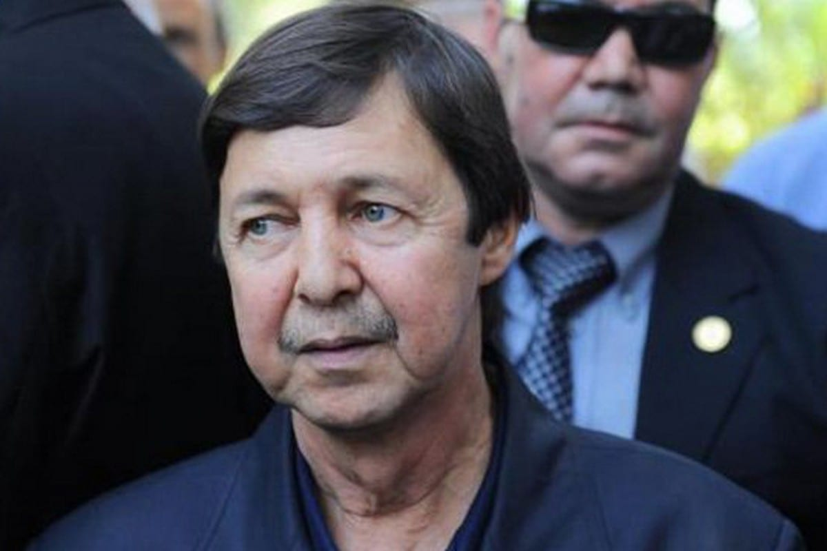 Said Bouteflika, the younger brother of Abdelaziz Bouteflika, the former president of Algeria, 19 June 2019 [LucaMiehe/Twitter]