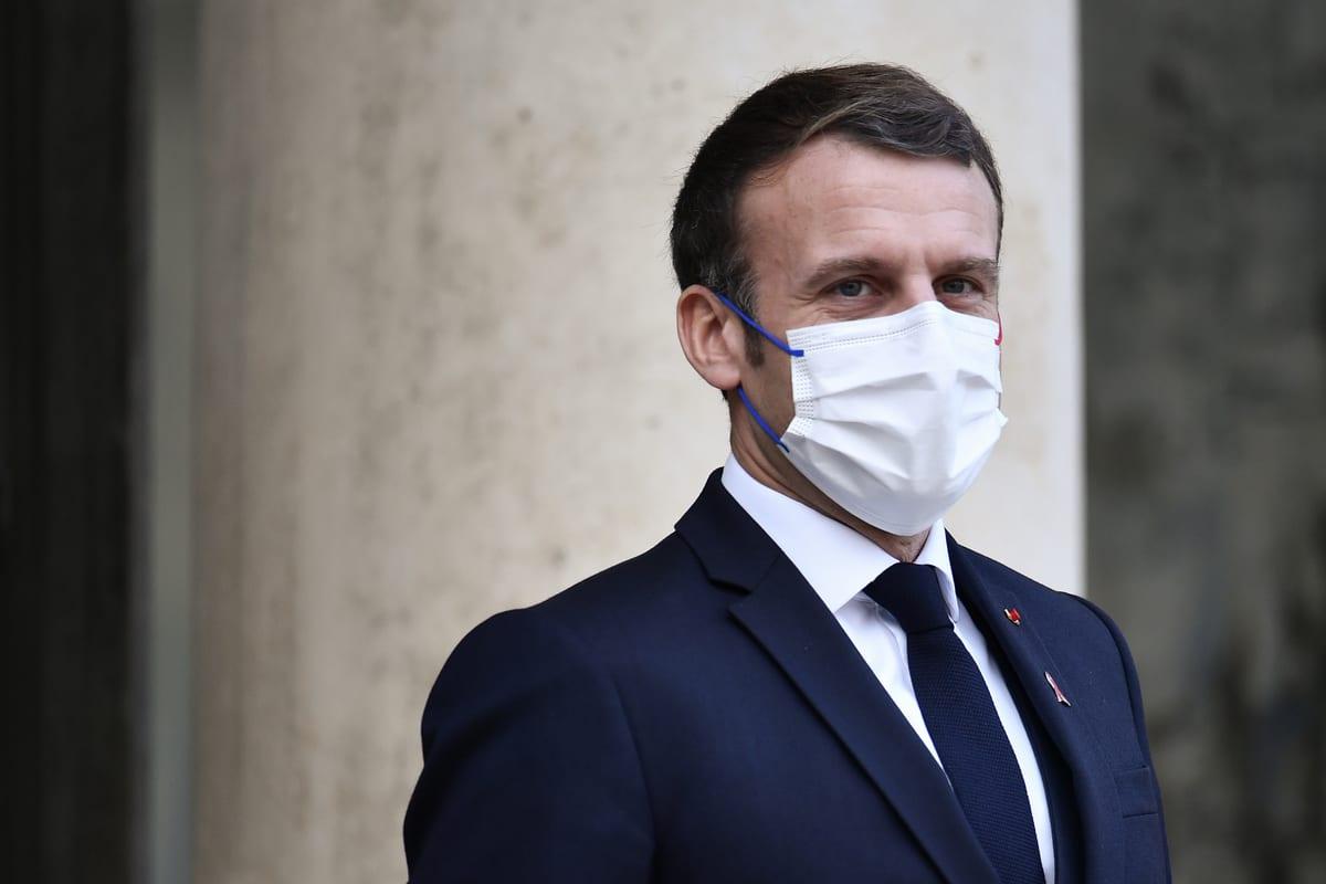 President of France Emmanuel Macron in Paris, France on 1 December 2020 [Julien Mattia/Anadolu Agency]