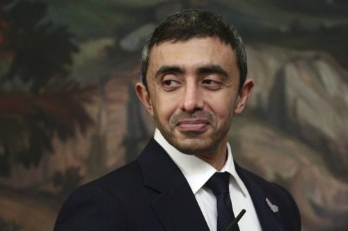 Minister of Foreign Affairs and International Cooperation of the United Arab Emirates, Sheikh Abdullah bin Zayed bin Sultan Al Nahyan on December 14, 2020 [Russian Foreign Ministry/Anadolu Agency]