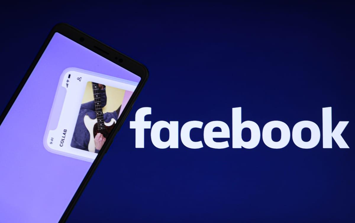 """A computer screen displaying the 'Facebook"""" icon on December 22, 2020 [Esra Hacioğlu/Anadolu Agencyy]"""