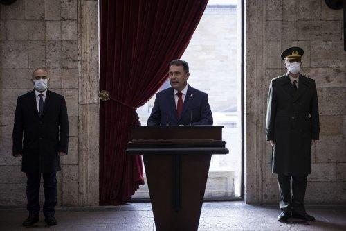 Turkish Republic of Northern Cyprus' Prime Minister Ersan Saner in Ankara, Turkey on December 23, 2020 [Özge Elif Kızıl/Anadolu Agency]