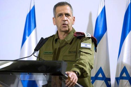 IDF Chief Aviv Kochavi makes a statemnent on November 12, 2019 in Tel Aviv, Israel [Amir Levy/Getty Images]