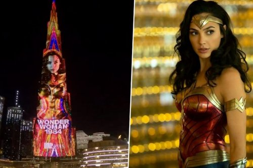 Israeli actress Gal Gadot takes over Burj Khalifa