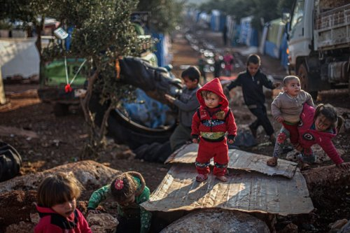 Thumbnail - Syria's Idlib refugee camps 'unliveable'