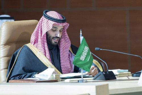 Crown Prince of Saudi Arabia Mohammed bin Salman in Saudi Arabia on 5 January 2021 [Royal Council of Saudi Arabia/Anadolu Agency]