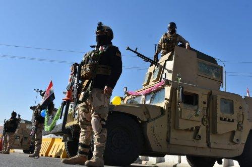 Iraqi soldiers in Kirkuk, Iraq on January 03, 2021. [Ali Makram Ghareeb - Anadolu Agency]