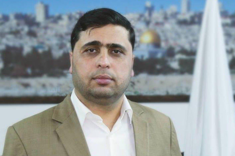 Hamas spokesman Abdul-Latif Al-Qanou [AbedQanoo/Facebook]
