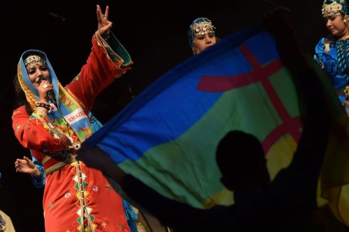 A festival to celebrate the Amazigh new year in Morocco on 12 January 2015 [FADEL SENNA/AFP/Getty Images]