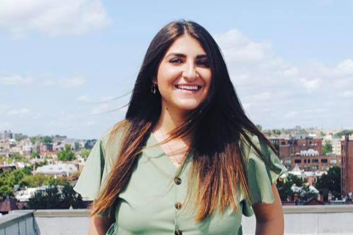 Dana Shubat, a Jordanian-American senior legal affairs adviser to US President-elect Joe Biden, 2 September 2019 [Dana Shubat/Facebook]