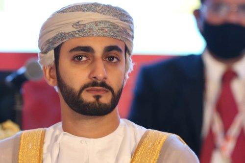 Dhi Yazan Bin Haitham crown prince of Oman in Muscat on 16 December 2020 [MOHAMMED MAHJOUB/AFP/Getty Images]