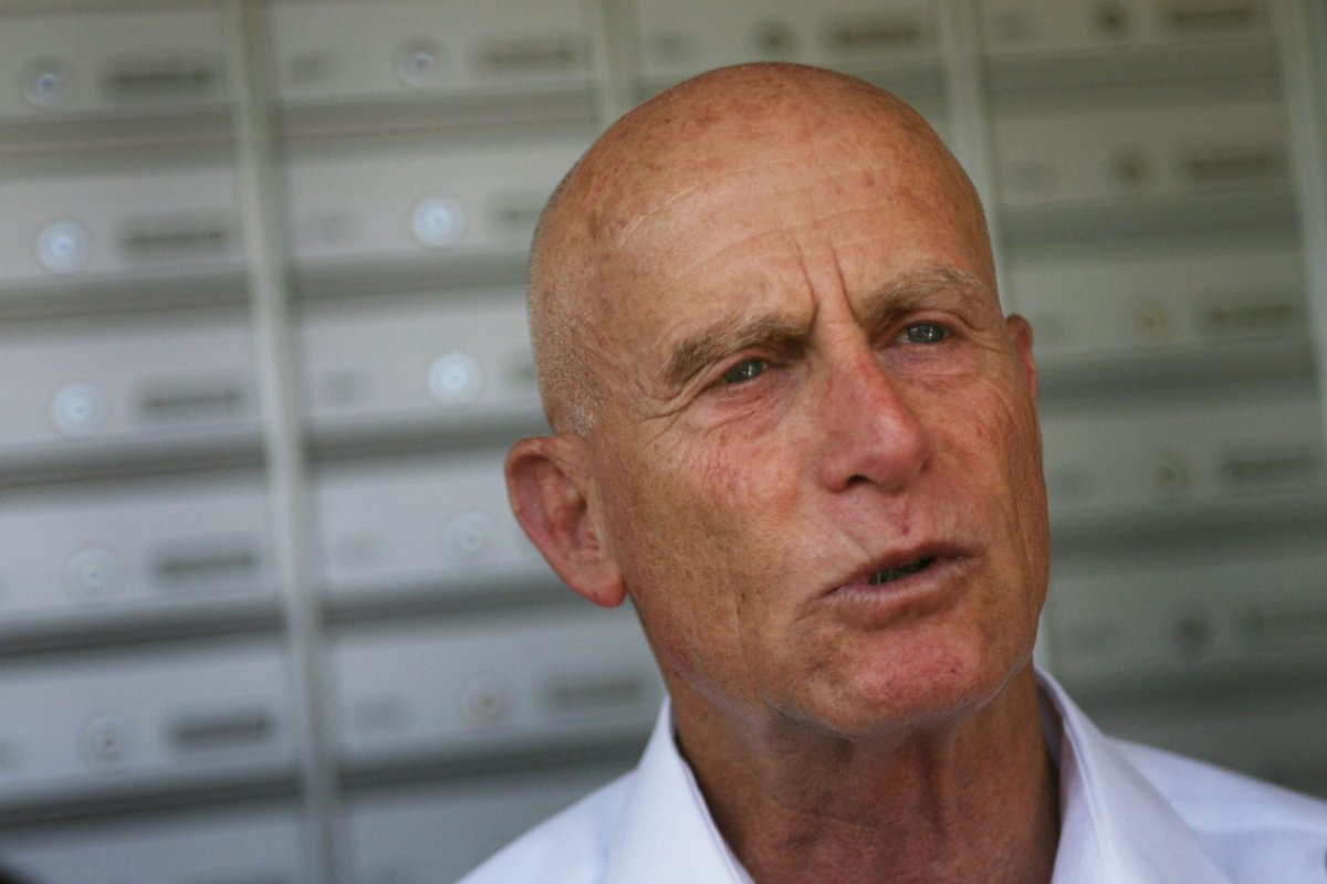 Ami Ayalon, former admiral and former head of Israel's Shin Bet security services [Photo by Uriel Sinai/Getty Images]