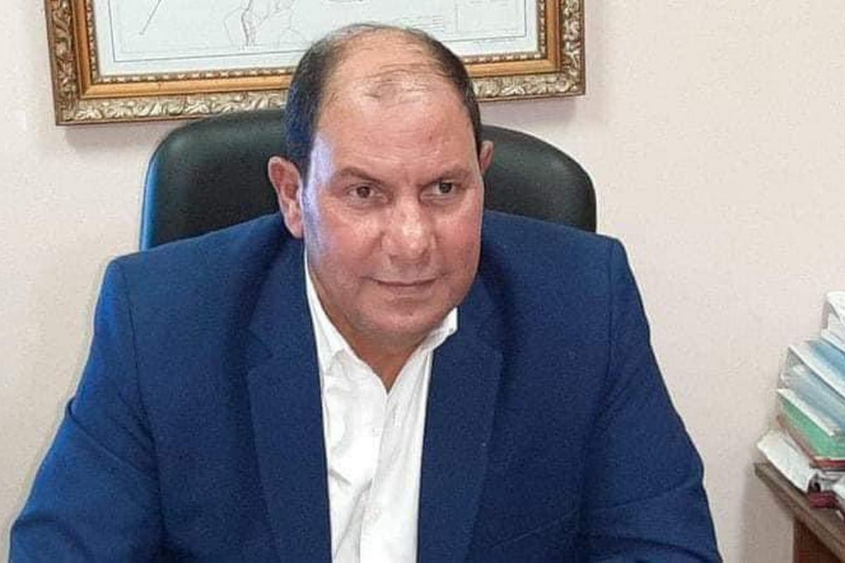 Hamdy El-Tabbakh, Undersecretary of Egypt's Ministry of Health in Qalyubia Governorate, 10 January 2021 [mohpegypt/Twitter]