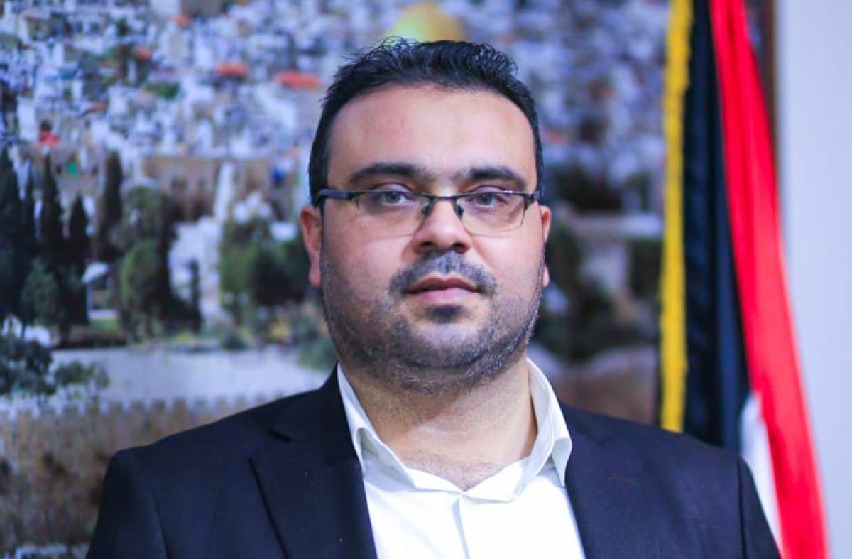 Hamas spokesman Hazim Qasem [hazemaq/Twitter]
