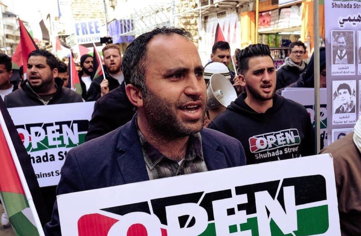 Palestinian activist Issa Amro [Issa Amro/MEMO]