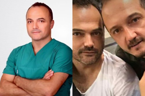 Turkish doctor Dr. Necati Emirhan (L) and his 2 brothers die of COVID-19 in a month [Medibafra/Twitter]