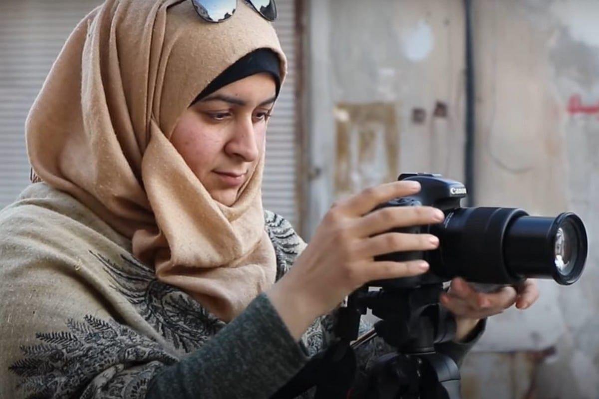 Media activist, Nour Al-Shilo, 19 November 2020 [14wombat1/Twitter]