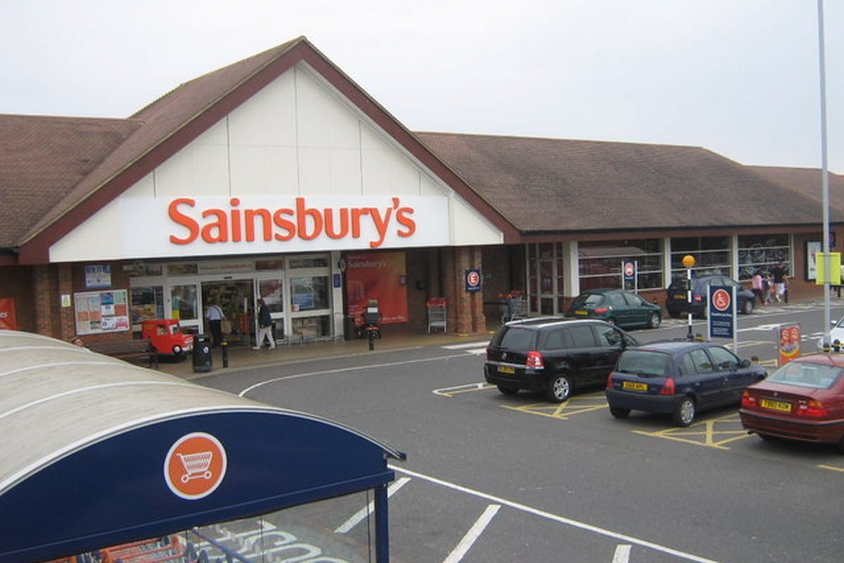 Sainsbury's Supermarket, in Chestfield, UK on 20 January 2021 [David Anstiss/Wikipedia]