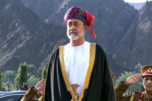 Oman's Sultan Haitham on 11 January 2020 [AFP/Getty Images]