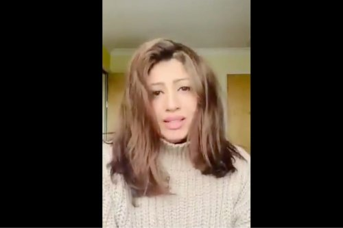 Kuwaiti singer Ibtisam Hamid [Screengrab/HBuyabes/Twitter]