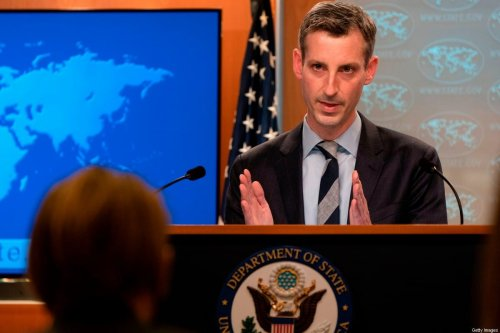 US State Department spokesman Ned Price speaks during a news briefing on February 3, 2021, at the State Department in Washington, DC [JACQUELYN MARTIN/POOL/AFP via Getty Images]