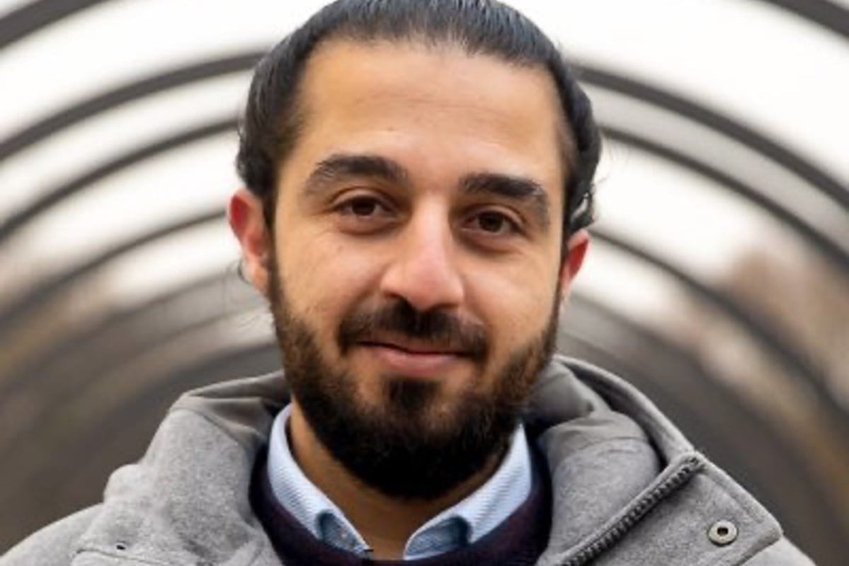 German parliament candidate Tareq Alaows [Tareq_Alaows/Twitter]