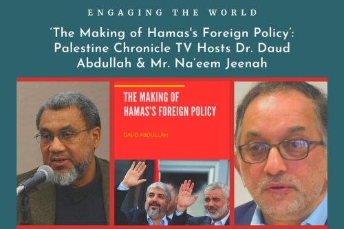 The making of Hamas' foreign policy book launch