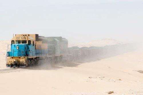 Discover the Iron Ore Train, Mauritania