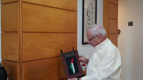 A 82 years old Palestinian refugee who keeps commemorating Land Day every year in Brazil : interview with Khader Othman [Middlle East Monitor]