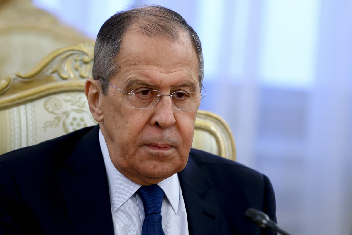Russian Foreign Minister Sergey Lavrov in Moscow, Russia on March 02, 2021 [Russian Foreign Ministry/Anadolu Agency]