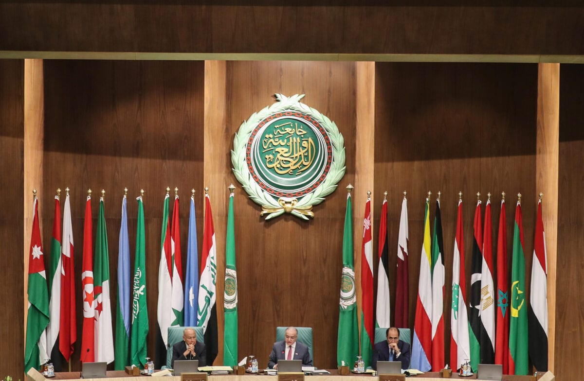 Arab Foreign Ministers 153rd annual meeting at the Arab League headquarters in the Egyptian capital Cairo on March 4, 2020 [MOHAMED EL-SHAHED/AFP via Getty Images]