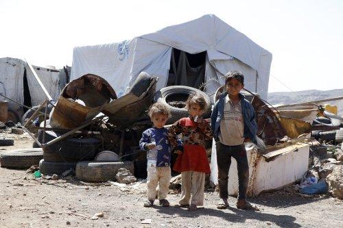 Yemen War Displaces Children Into Camp In Sanaa