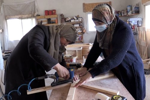 Thumbnail - Meet the Palestinian women carving their future out of wood
