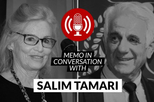 MEMO in conversation with Prof Salim Tamari