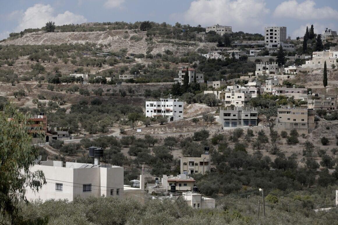 Sebastia, near the northern West Bank city of Nablus [AHMAD GHARABLI/AFP via Getty Images]
